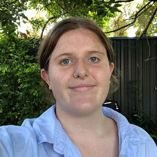 Portrait of Dominica Crosby