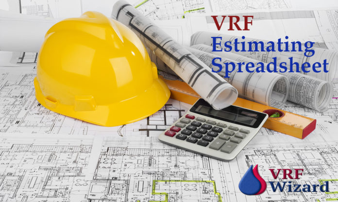 VRF Cost Estimating Spreadsheet
