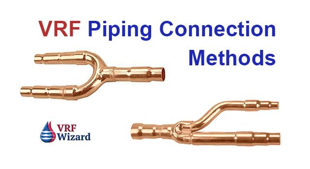 VRF Piping Connection Methods Zoomlock LokRing Refnet