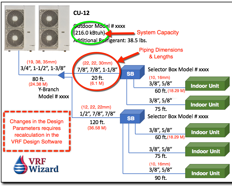VRF Piping Design Software