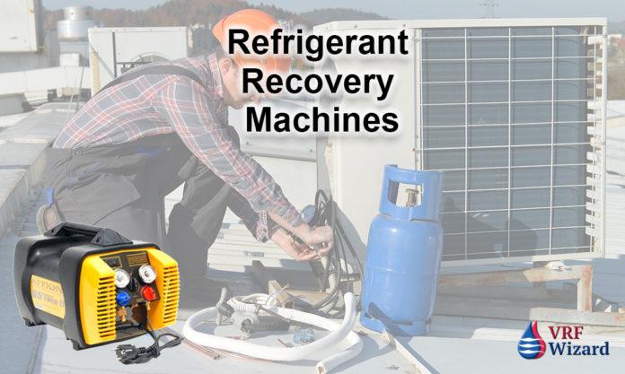 refrigerant recovery machine