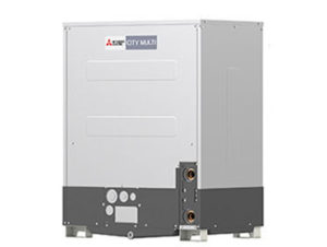 mitsubishi vrf outdoor unit water-cooled