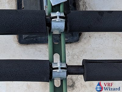 Pipe Insulation - Poor Installation - 1