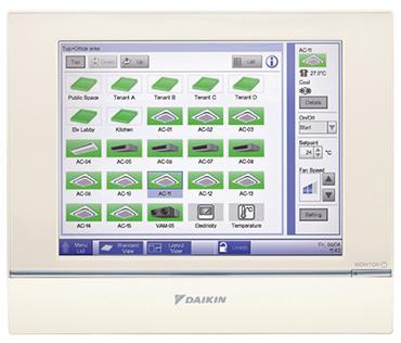 Daikin VRV system Controller