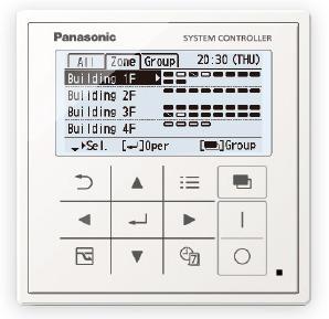 Panasonic VRF Central Controller