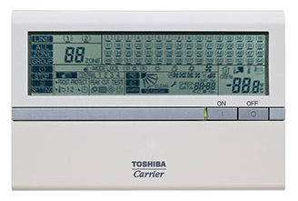 Toshiba Carrier VRF Central Controller Model # BMS-SM1280