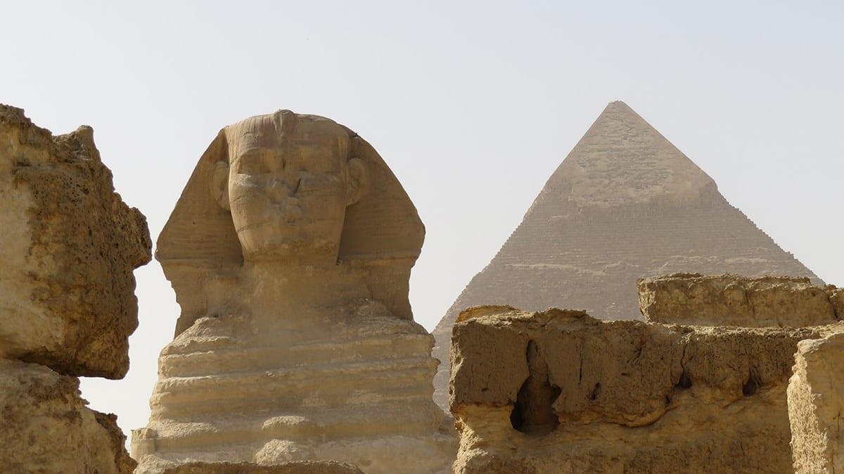 Sphinx, Giza Pyramids, Cairo, Egypt
