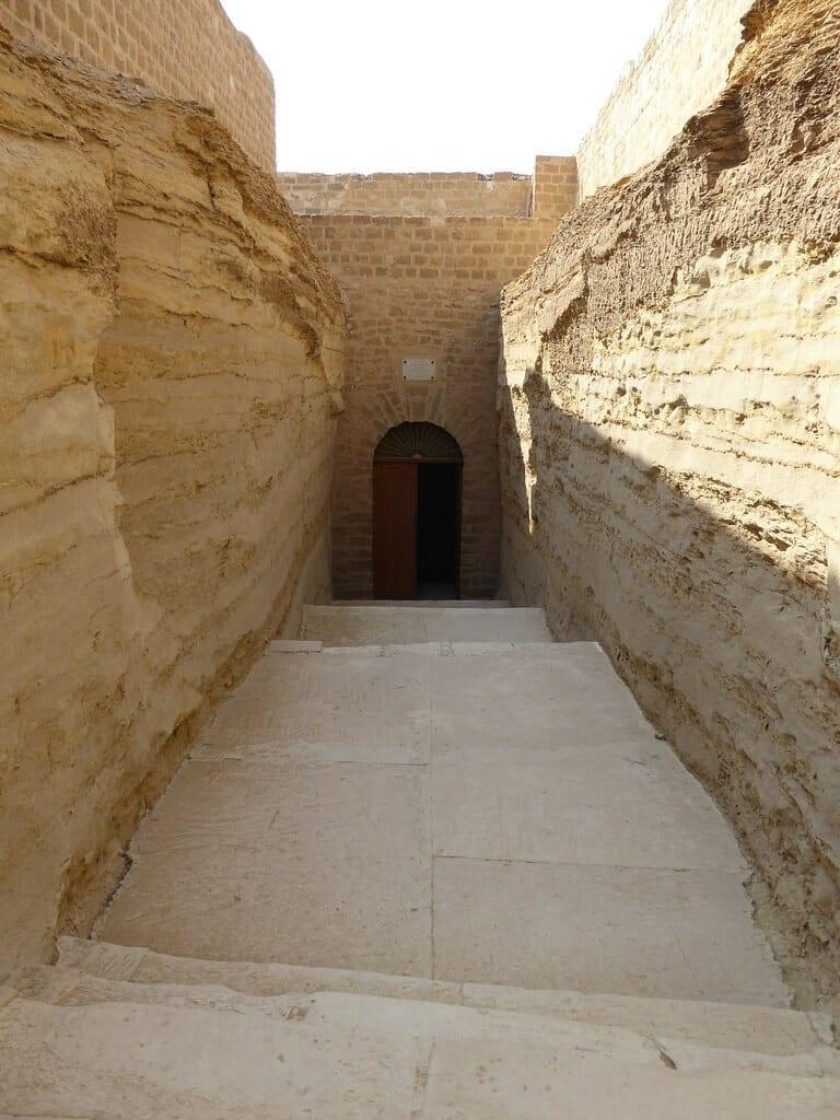 Serapeum of Saqqara entrance