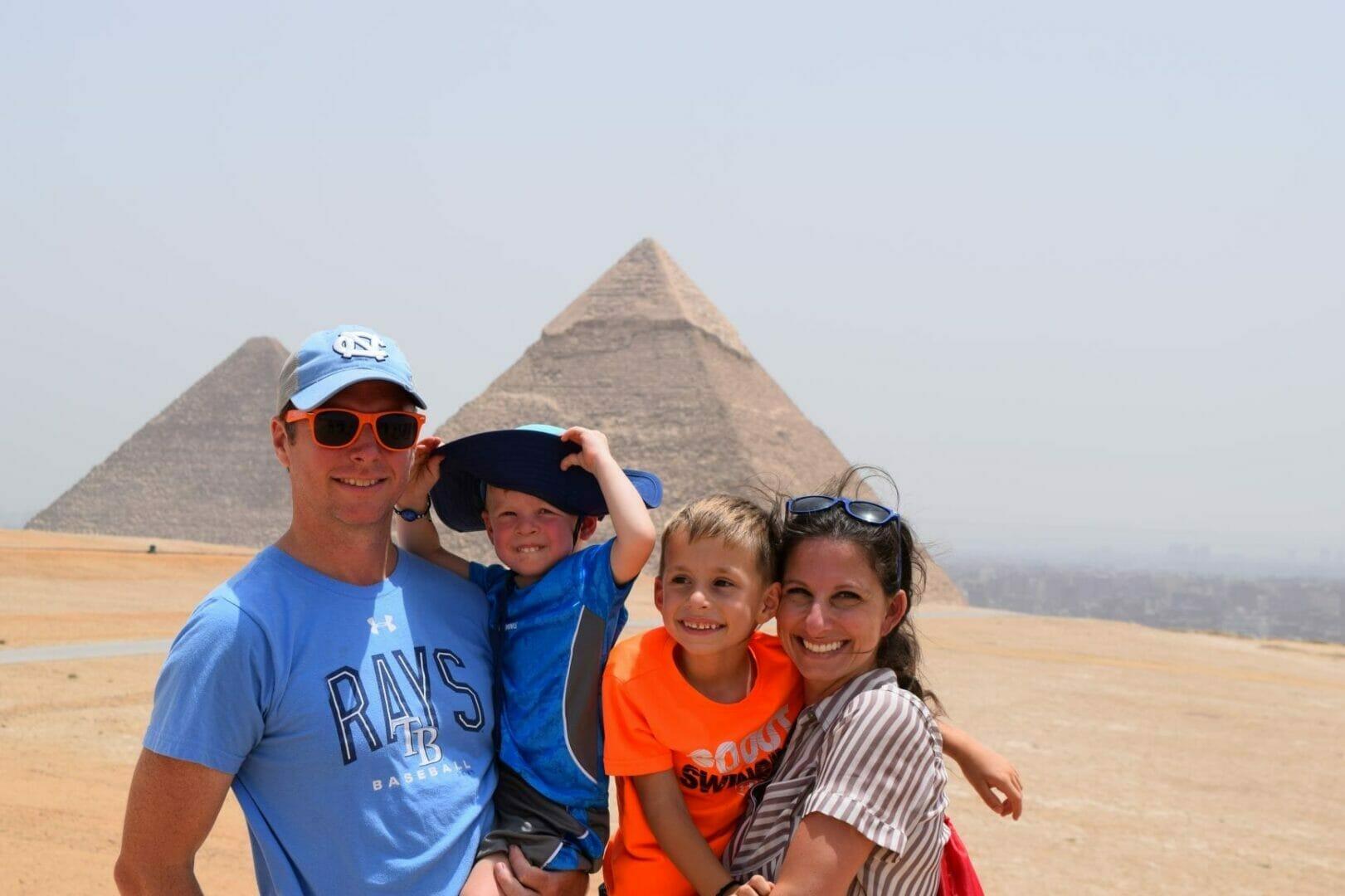 Family Tour at the Pyramids