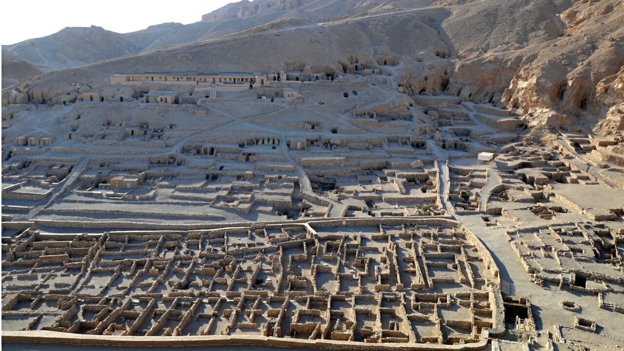 Deir El Medina- Tombs of the Ancient Egyptian workers