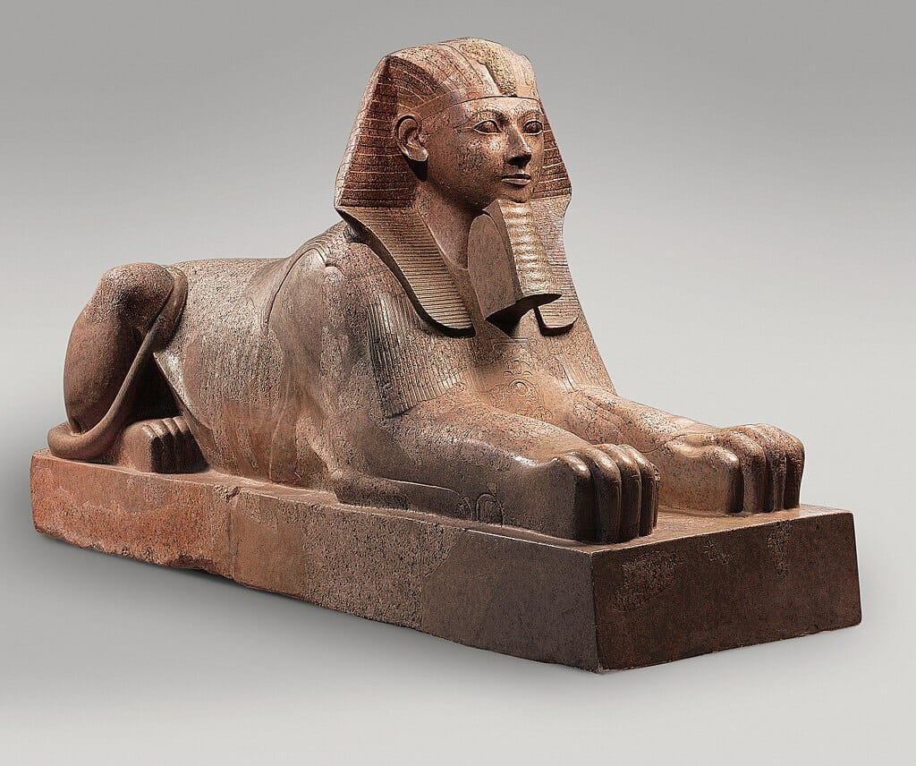Hatshepsut Sphinx Statue the strong woman ruling Egypt