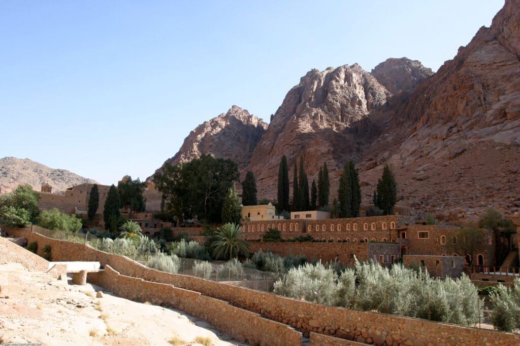Mount Sinai and The Burning Bush of Moses