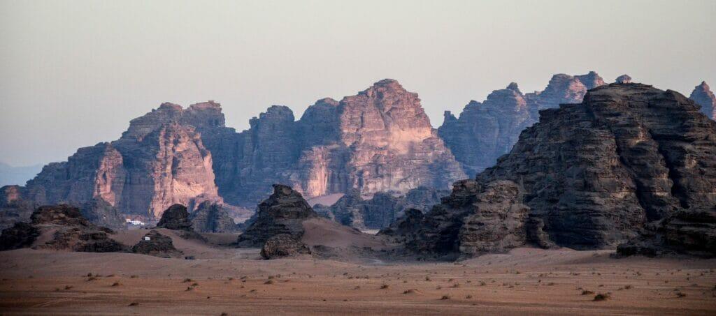 Wadi Rum- Safari and Camping in Jordan-The Most Beautiful Desert-Jordan