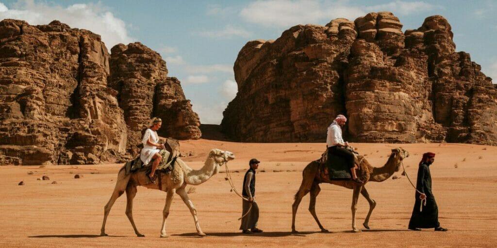 Camel Ride and Safari at Wadi Rum in Jordan