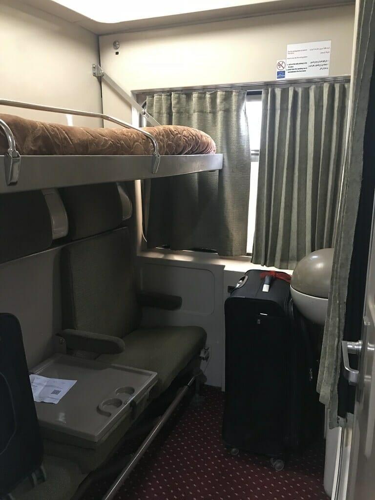 Sleeper Train Cairo Luxor and Aswan Egypt