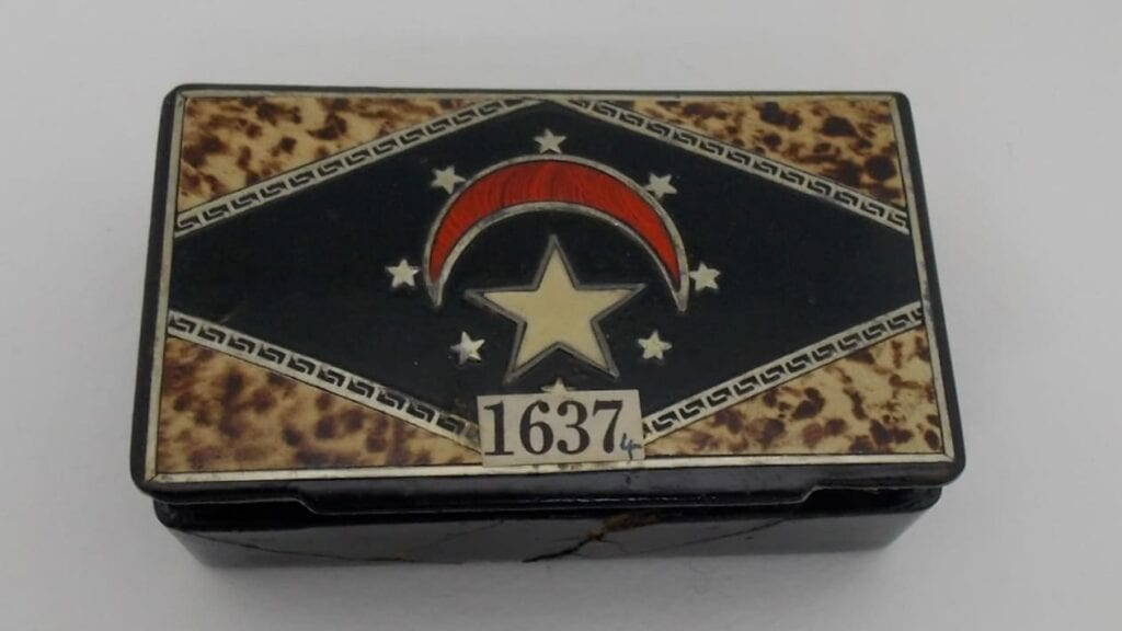 Ancient Relic from Great Pyramid in a Cigar box
