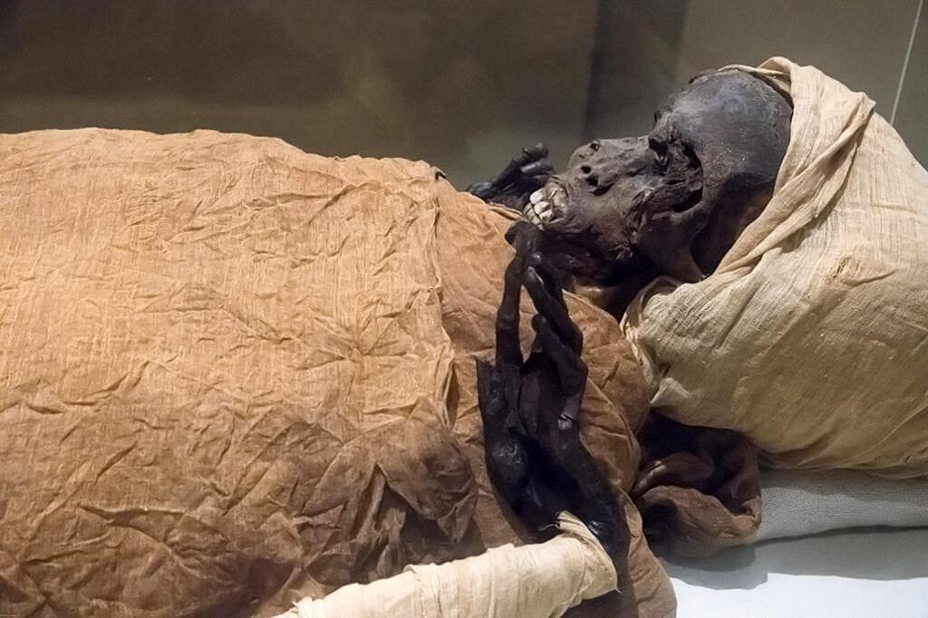 Mummy King Segenenre Ta Egypt
