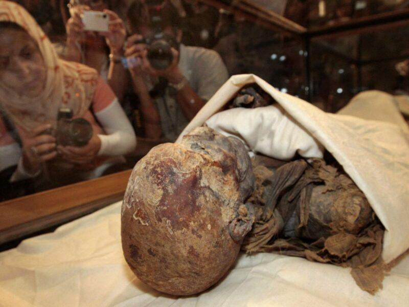 Preserved Royal Egyptian Mummies