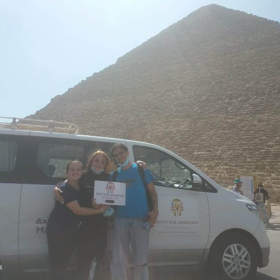 Happy American Family in Egypt