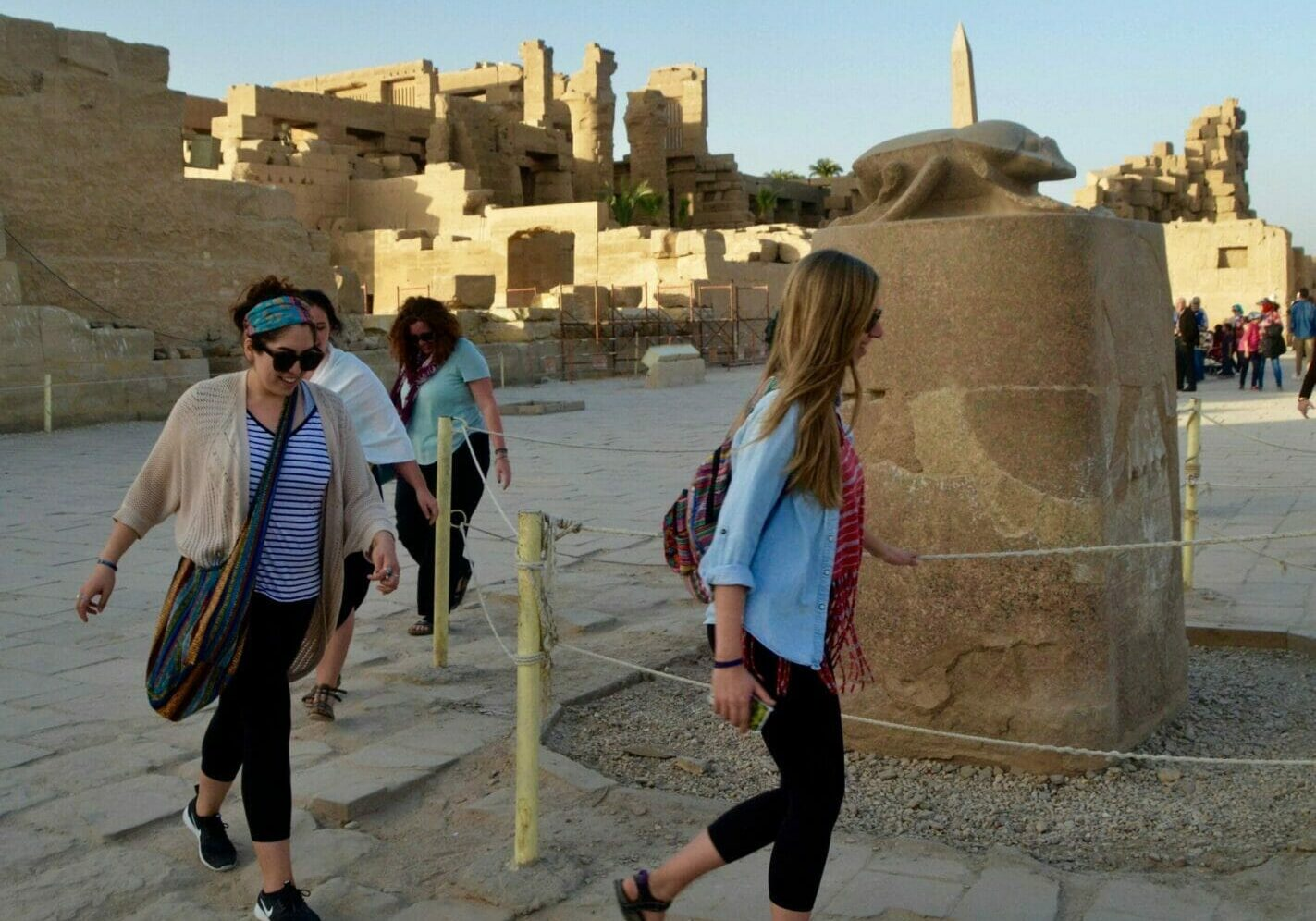 Walk like an Egyptian-Karnak Temple