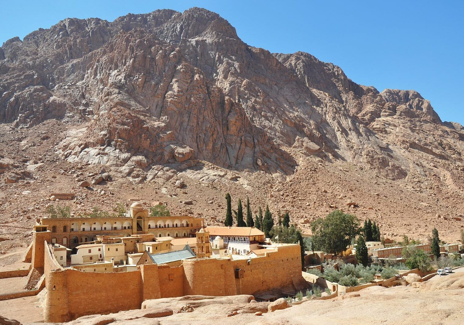 Saint Catherine Monastery and Mount Sinai Egypt