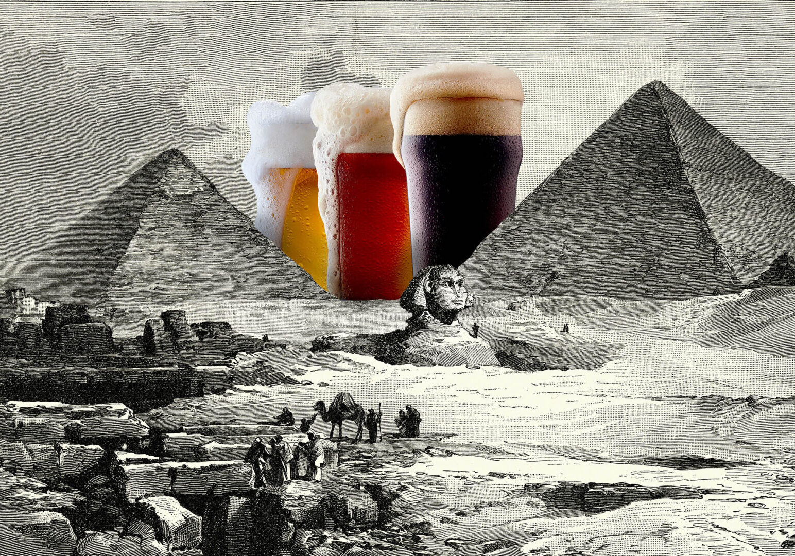The World oldest known beer factory discovered in Egypt-Beer in Ancient Egypt