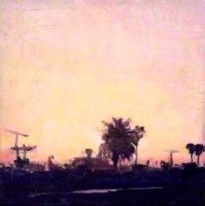 Peach Sunrise, Venice California