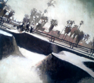 Venice Gray SkatePArk, California