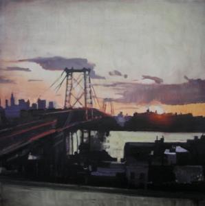 Tungfa, Brooklyn, Williamsburg Bridge, NYC Sunsets