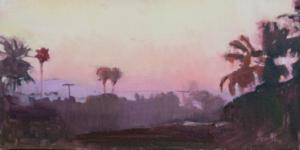 LA Sunrise, California Pinks