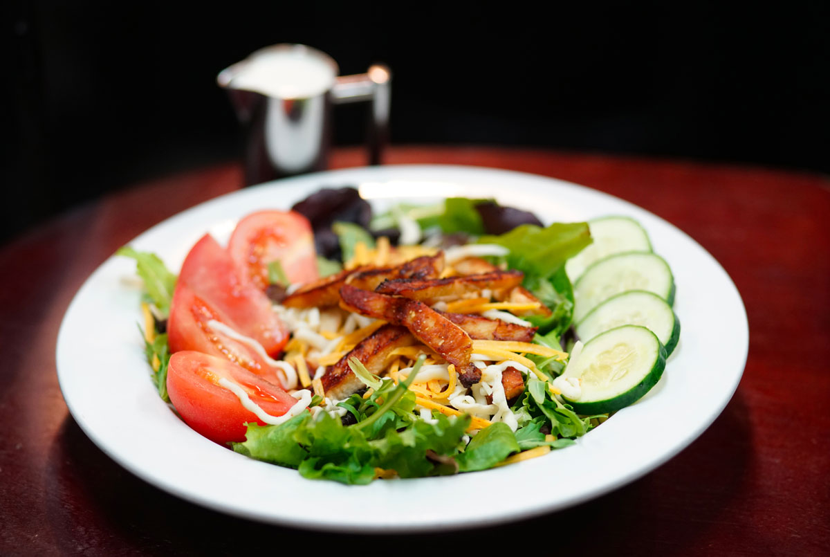 Brick House Cafe grilled chicken salad