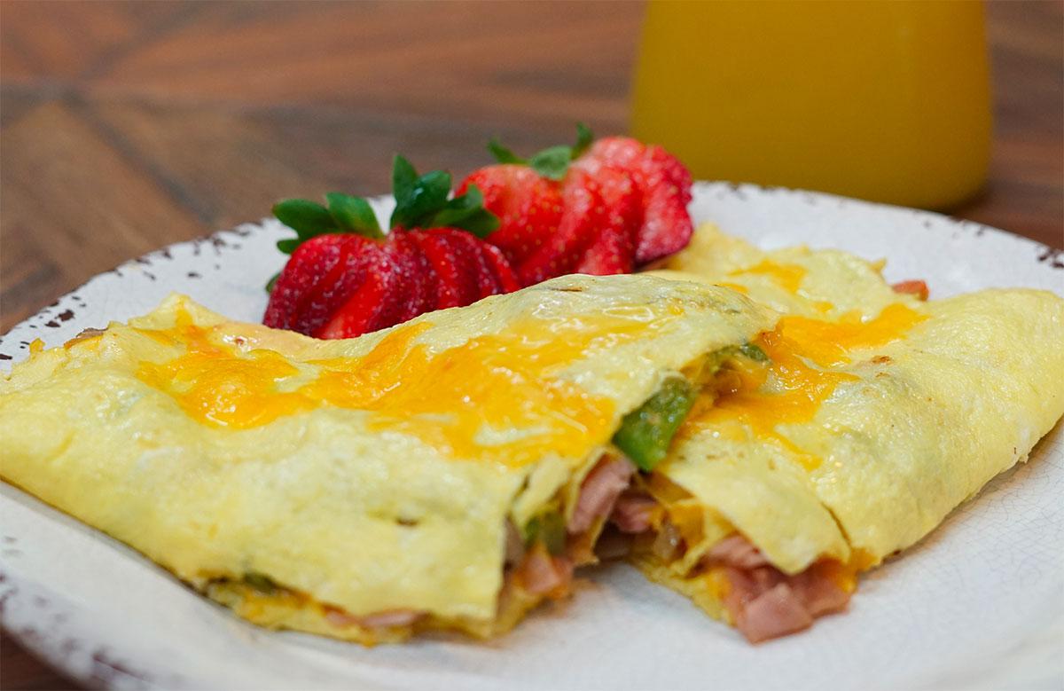 Brick House Cafe omelete