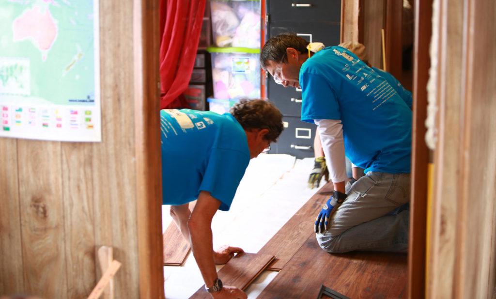 RTSV Volunteers at Work