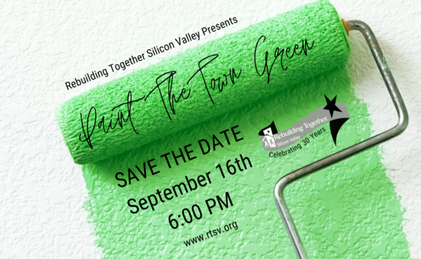 Paint the Town Green Invitation