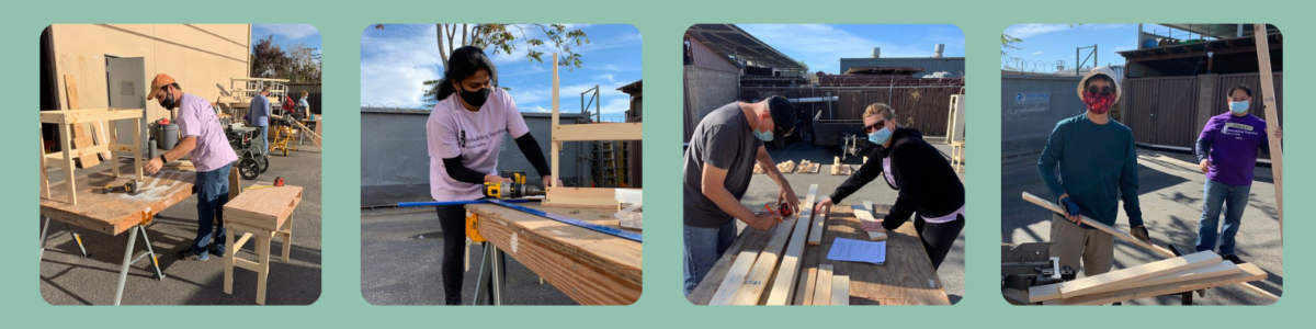 RTSV and NetApp Build Desks for Children of Essential Workers