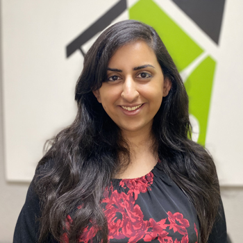 Shama Saleem, Development and Communications Coordinator