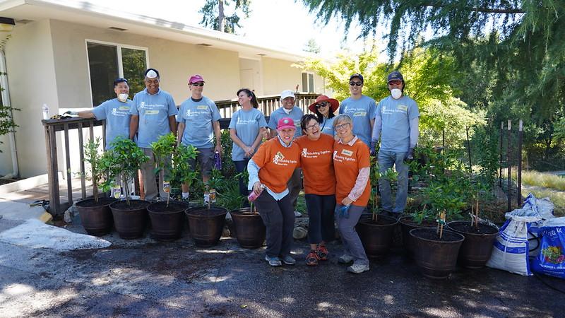 Uplift Family Services Citrus Tree Planting