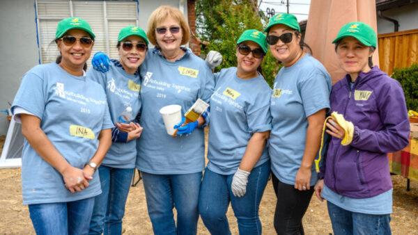 Volunteers -- Rebuilding Days