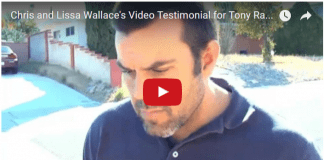 Video Testimonial from Chris and Lissa Wallace