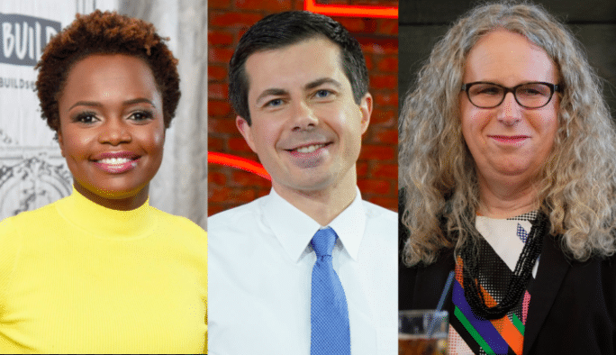 Prominent LGBTQ Members in President Biden's Administration