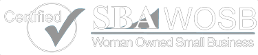 Certified SBA WOSB Woman Owned Small Business