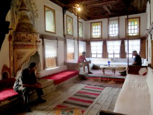 The  grand room of Skendulate House where weddings were held © 2016 Karen Rubin/goingplacesfarandnear.com