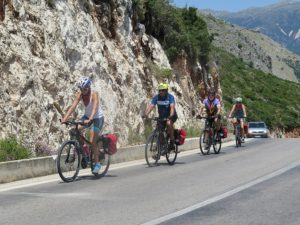 Biking from Saranda to Himare © 2016 Karen Rubin/goingplacesfarandnear.com