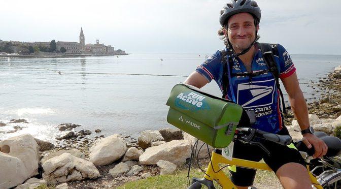 Discovering Portorose, Slovenia and Porec, Croatia at End of 8-day Self-Guided BikeTour from Venice