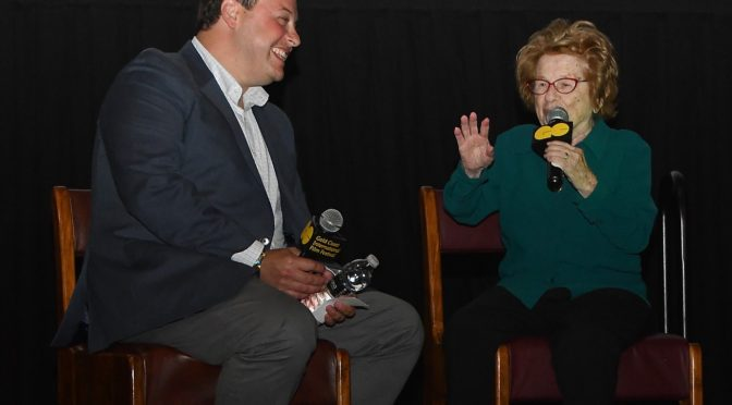 Dr. Ruth Westheimer, Famous 'Goddess of Good Sex,' Talks Frankly About Surviving Holocaust at Gold Coast Arts Center Screening of 'Ask Dr. Ruth'