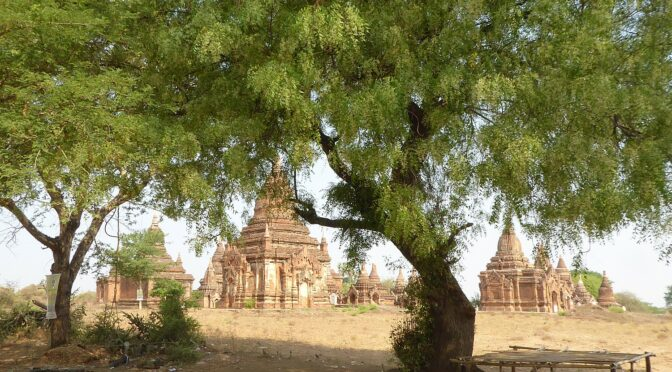 Global Scavenger Hunt, Leg 3 in Myanmar Continues: Bagan, City of Temples, Newly Named UNESCO World Heritage Site