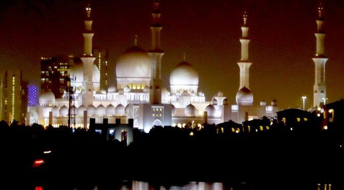 Global Scavenger Hunt, Leg 5: Discovering Abu Dhabi