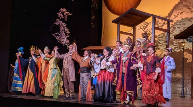 Rush to See the New York Gilbert & Sullivan Players' 'Mikado,' Showpiece of its 45th Season