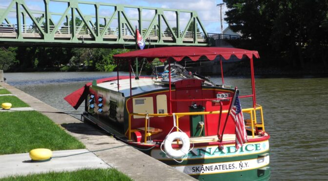 See America: Cruise the Erie Canal across New York State by Self-Skippered Canalboat