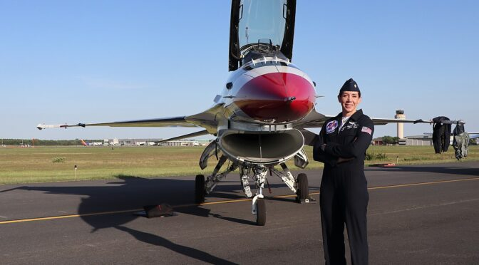A Visit With the USAF Thunderbirds on Long Island